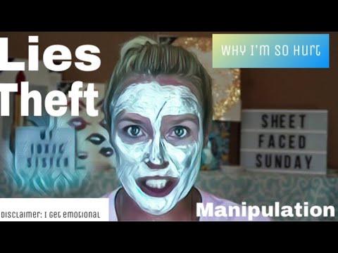 Sheet Faced Sunday  - My Toxic Sister