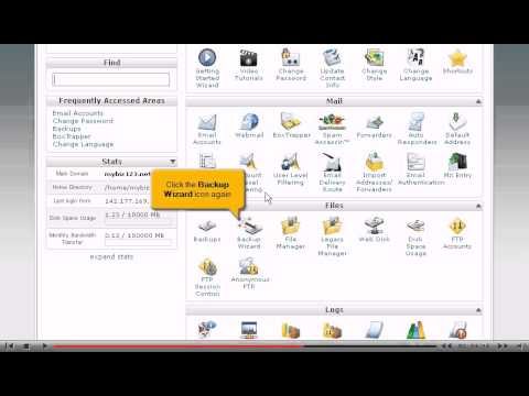 How to backup your website in cPanel