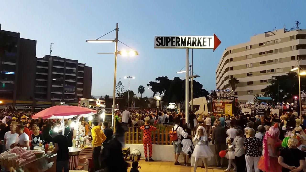 Uutisia- Maspalomasin suuri karnevaalikulkue oli eilen<br /> &nbsp;