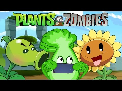 Plants VS Zombies Animation : Airplane Mode