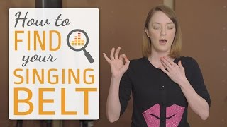 Video How to find your singing belt - belting techniques for singers MP3, 3GP, MP4, WEBM, AVI, FLV Juli 2019