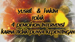 Download Video SIDANG HTI  - YUSRIL DAN HAKIM TOLAK 4 PEMOHON INTERVENSI PRO PEMERINTAH MP3 3GP MP4