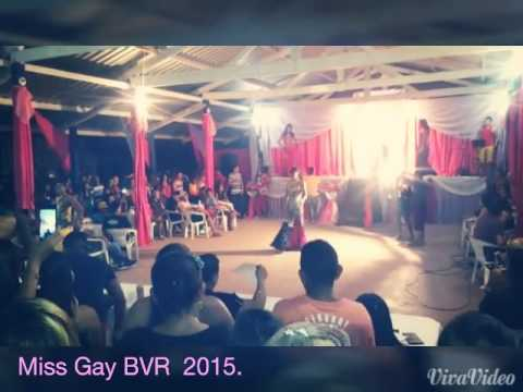 Concurso Miss Gay 2015 em Boa Vista do Ramos Am-