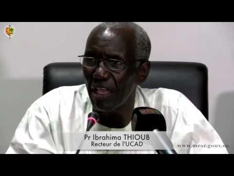 Caravane de l'enseignement supérieur 2015 / Visite des chantiers de Dakar
