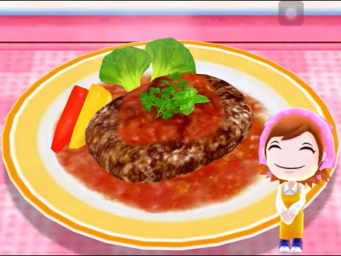 Cooking Mama Let's Cook - Salisbury Steak