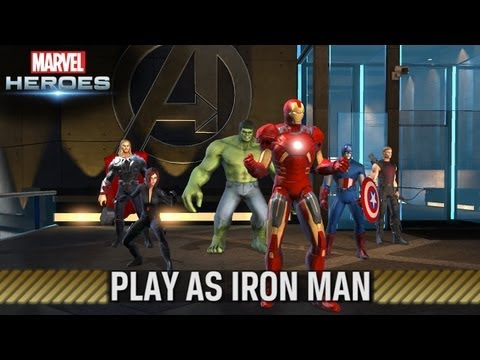 Marvel Heroes — Play as Iron Man — Trailer