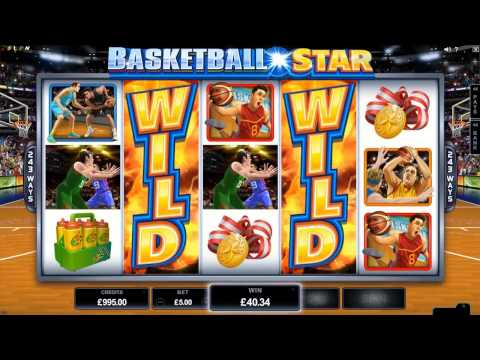Basketball Star Slot - Microgaming Promo Video