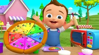 Video Little Baby Making Pizza DIY - Kids Toddlers Activities Learn Colors for Children with Pizza Slices MP3, 3GP, MP4, WEBM, AVI, FLV Januari 2019