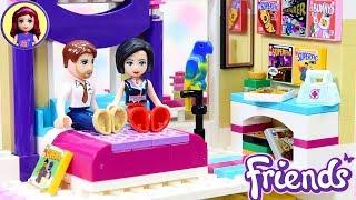Parent's Room for Olivia's House Renovation Custom Lego Friends Build DIY Craft