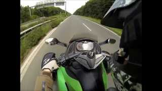 5. 180km/h Top Speed Can Am Spyder RS with GoPro Hero 3 Black Edition