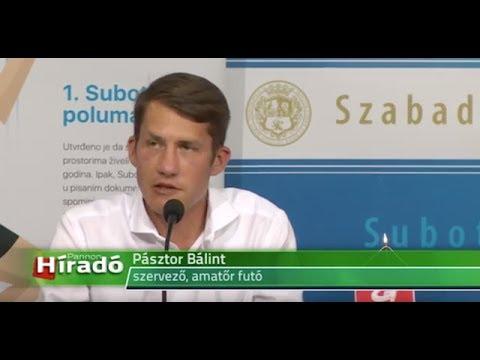 Nataša Kovačević szerb kosárlabdázó az első Szabadkai Félmaraton egyik arca-cover