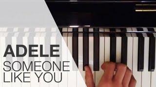Klavier Anleitung: Someone Like You Von Adele Lernen/ Song Auf Dem Piano Keyboard Klavier Spielen