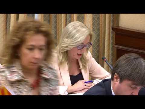 Intervención de Mª del Carmen Dueñas en la Comisión de Justicia del Congreso