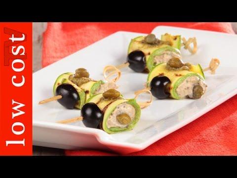 involtini di zucchine con tonno - ricetta