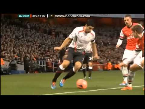 Arsenal Vs Liverpool 2-1, FA Cup 5th Round  Highlights 16/2/2014 [ITV]