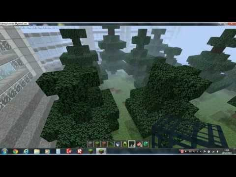 minecraft jurassic park work in progress