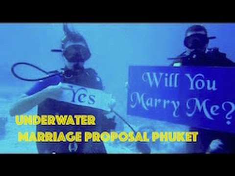 Underwater Marriage Proposal HD Video by Freedom Divers, Phuket