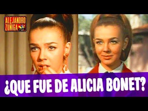 ¿QUE FUE DE ALICIA BONET?