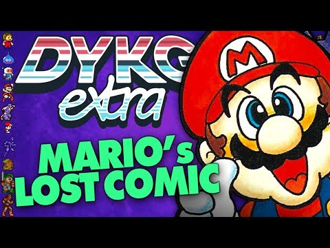 Mario's Lost Comic [Video Game Comics] - Did You Know Gaming? extra Feat. Greg (видео)