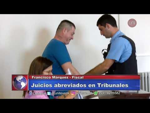 Tres juicios abreviados