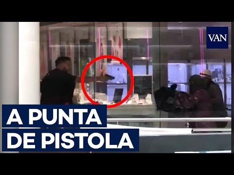 Barcelona: Banda chilena podría estar detrás de atraco en joyería (VÍDEO)
