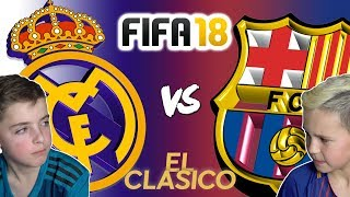 Video REAL MADRID VS BARCELONA | EL CLASICO 2017 | FIFA 18 EDITION MP3, 3GP, MP4, WEBM, AVI, FLV Desember 2018