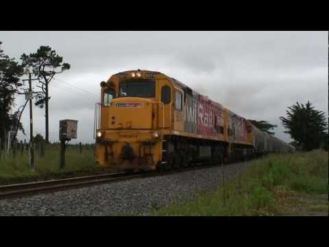 Kiwi Rail Taranaki Milk Trains - Part 1