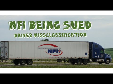 NFI being sued for misclassification of Truck Drivers 2019
