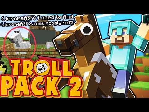TODAY WE FIND A NEW GOOGLY BUTT HORSE - TROLL PACK SEASON 2 #11