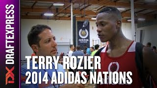 2014 Terry Rozier Interview - DraftExpress - Adidas Nations