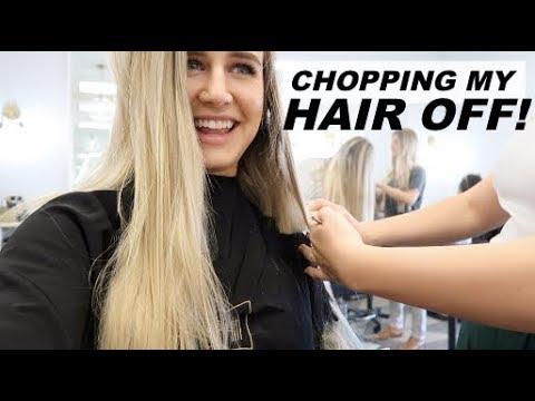 Hair cutting - CHOPPING OFF MY HAIR !?