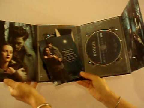 Twilight DVD unboxing !