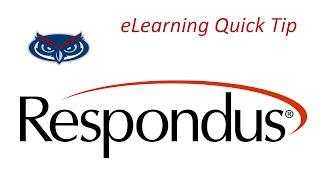 eLearning Quick Tip - Respondus