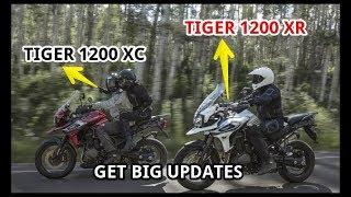 10. 2018 Triumph Tiger 1200 XC And Tiger 1200 XR Get Big Updates