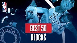 Download Video NBA's Best 50 Blocks | 2018-19 NBA Regular Season MP3 3GP MP4