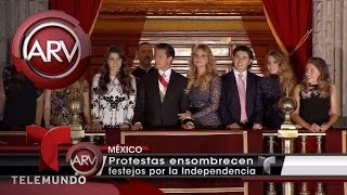 México no quiere a Peña Nieto ni en sus fiestas