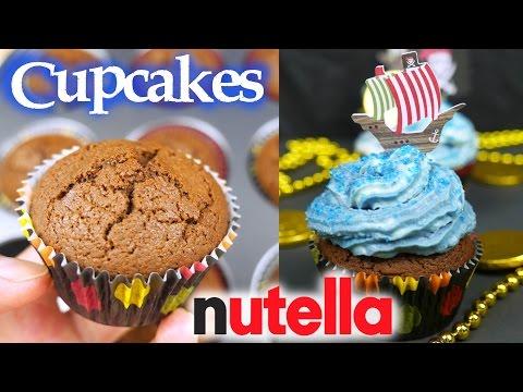 Cupcakes de nutella s lo 3 ingredientes mi cocina r pida for Ideas cocina rapida