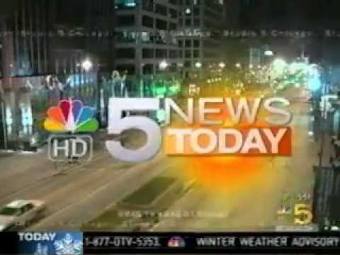 NBC 5 News: Namaste Student Delivers Pies to Mayor Emanuel
