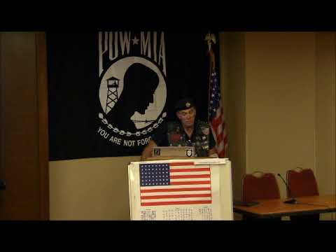 2017 NAF speech 12, Rolling Thunder President, Artie Muller