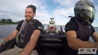 1000HP on WATER - Supercharged V8 BOAT! by 1320Video