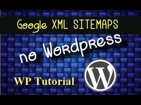 Instalar o Google XML Sitemaps no WordPress