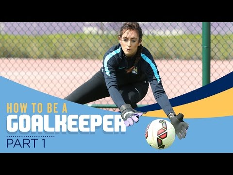 Video: HOW TO BE A FOOTBALLER | Part 1 | Goalkeeping