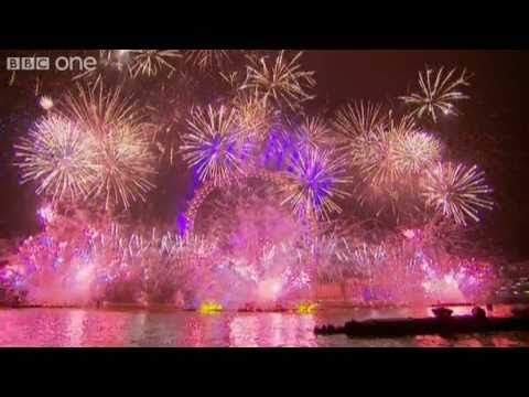 fireworks - More about this programme: http://www.bbc.co.uk/programmes/b00gtn49 London's spectacular midnight fireworks display, welcoming in 2011. Happy New Year!