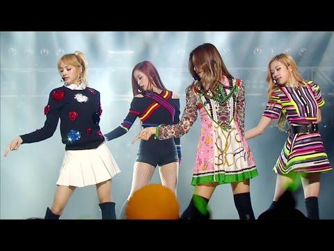 《EXCITING》 BLACKPINK (블랙핑크) - PLAYING WITH FIRE (불장난) @인기가요 Inkigayo 20161204