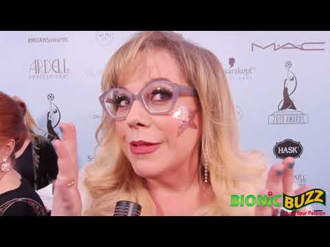 Kirsten Vangsness Interview at Make-Up Artists & Hair Stylists Guild Awards