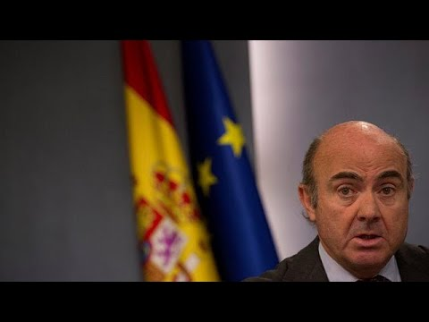 De Guindos, virtual vicepresidente del BCE, al retirarse Philip Lane (видео)
