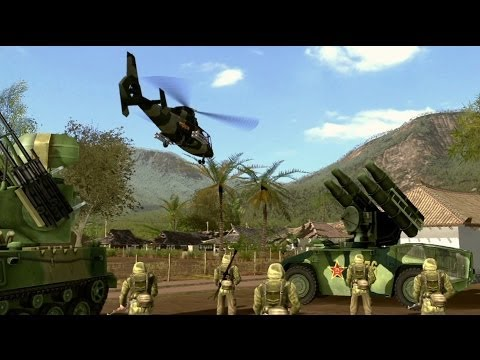 RED - Wargame: Red Dragon will be available for PC on April 17. Follow Wargame Red Dragon at GameSpot.com! http://www.gamespot.com/wargame-red-dragon/ Official Dev...