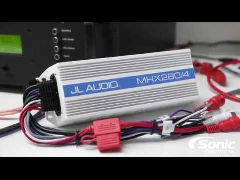 JL Audio MHX280/4 Marine Amplifier Dyno Test | SMD D'Amore AD-1