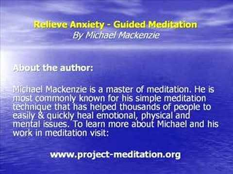 Guided Meditation - Relieve Anxiety
