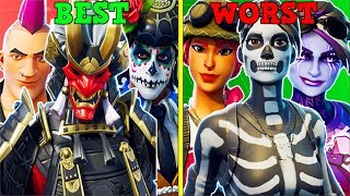 RANKING EVERY SEASON 6 SKIN FROM WORST TO BEST! (You Won't Agree!) | Fortnite Battle Royale!